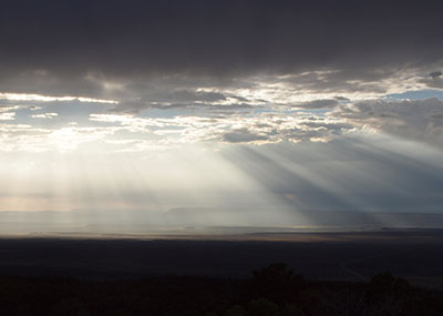 Crepuscular Rays (Ron Watters Photo)
