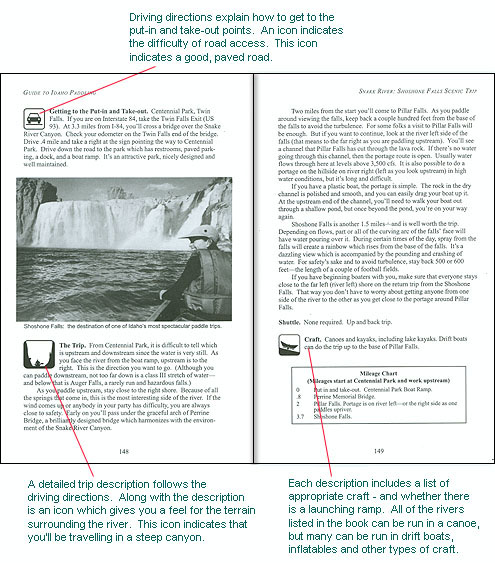 Sample Pages: Guide to ID Paddling